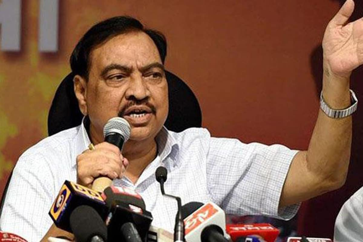 Days After Switching Over to NCP, Eknath Khadse Receives ED Summons in Pune Land Deal Case
