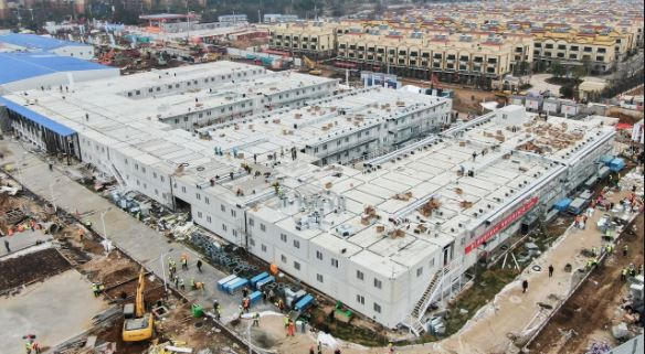 China builds new quarantine center as Covid-19 cases spike