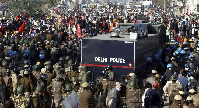 R-Day violence: 9 accused sent to Tihar jail for attacking police