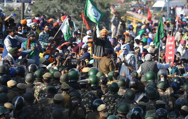 """Return to borders"" urges Amarinder Singh's to farmers after violent Delhi clashes"
