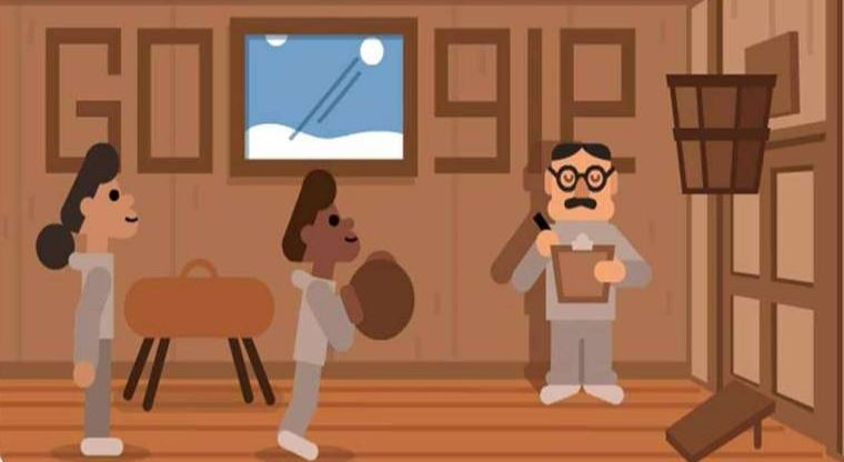 Google celebrates Basketball inventor Dr James Naismith with Doodle
