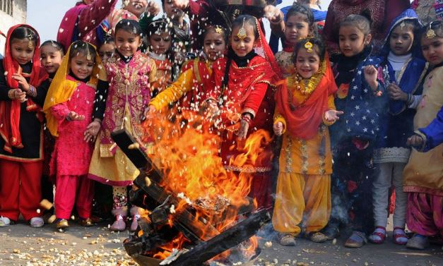 Celebrate Lohri with much zeal and delicious meals; Happ Lohri !!!