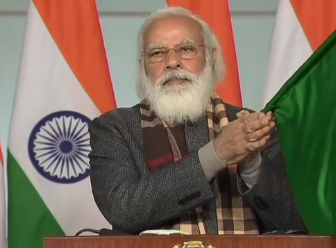 PM Narendra Modi flags off 8 trains to boost connectivity to Statue of Unity