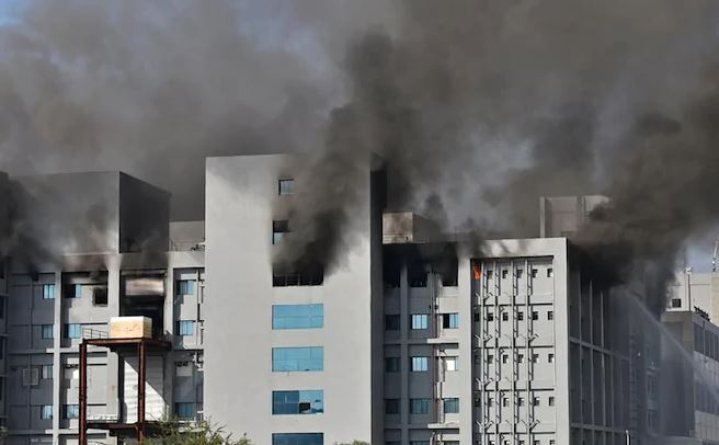 Serum Institute of India under blaze; Fire put out, no impact on Covishield production