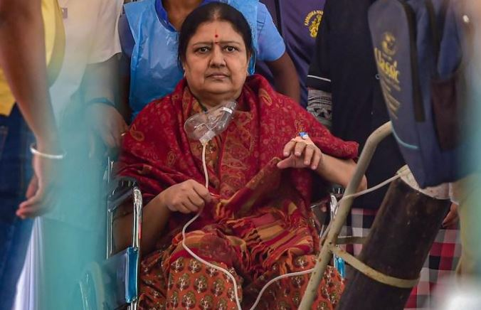 VK Sasikala released from jail after serving 4-year sentence in DA case