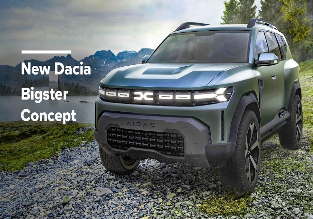 Dacia (Renault) Bigster SUV concept unveiled, could 7-seater Duster in India