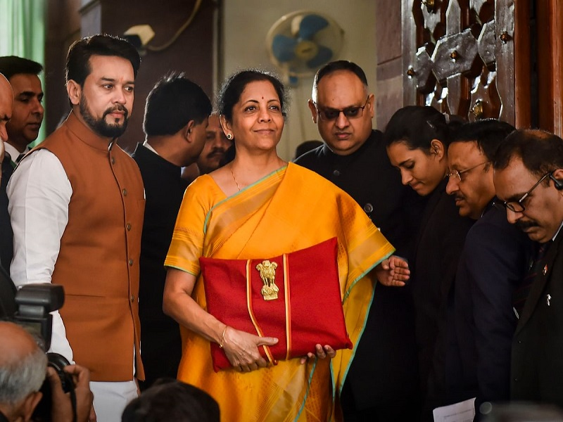 FM Nirmala Sitharaman Launches Union Budget Mobile App