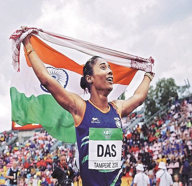 Indian Sprinter Hima Das appointed as DSP in Assam Police