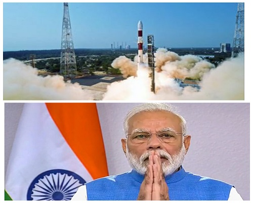 Historic moment: PM after ISRO launches Brazil's Amazonia-1 satellite