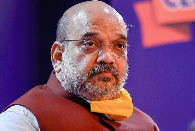"""Amit Shah on Rihanna's farmer protest tweet says """"India Stands United"""""""