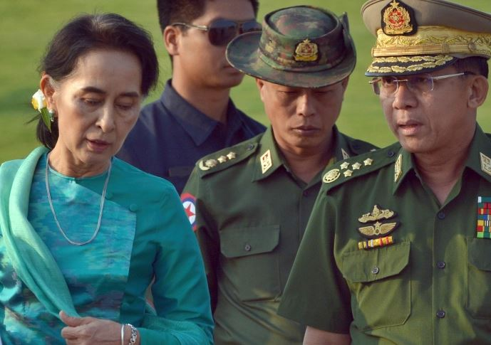 Myanmar military detains Aung San Suu Kyi in coup, declares 1-Year emergency