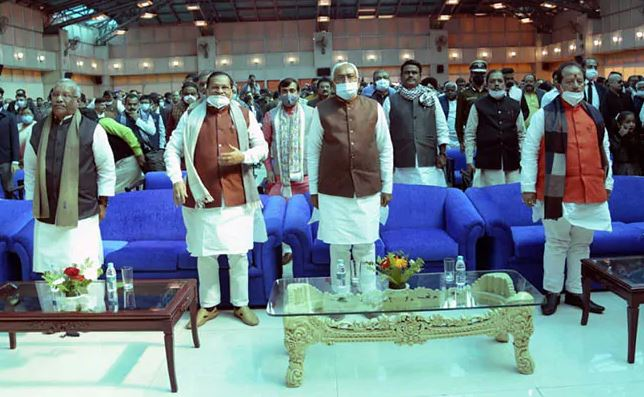 Bihar cabinet expansion: 17 members inducted; 9 from BJP, 8 from JD(U)