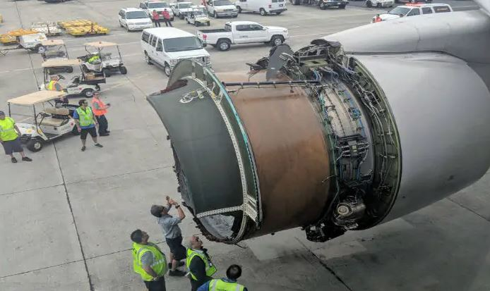 All Boeing 777s with same engine grounded after United Airlines fire
