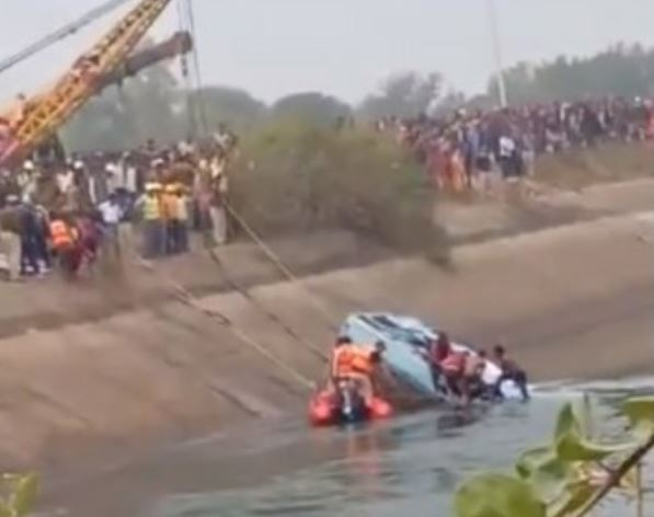 MP bus accident: At least 45 bodies recovered from Canal, many still missing