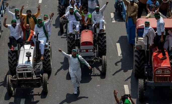 UP: 220 tractor owners sent notice; Opp. alleges move to threaten farmers