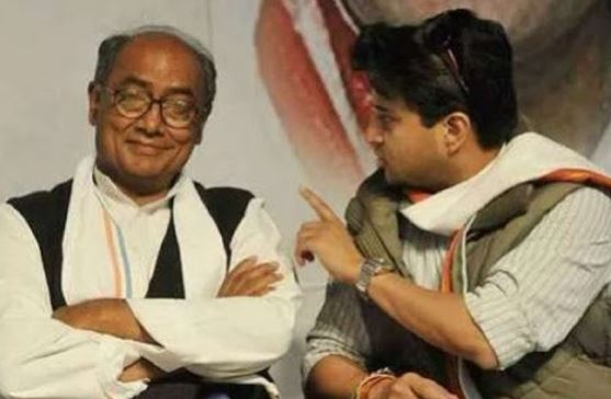 Jyotiraditya Scindia, Digvijaya Singh's banter leaves Parliament in splits