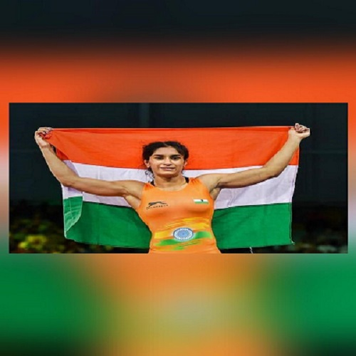 Vinesh Phogat secures 4 points in last 25 seconds to win gold in Ukraine wrestling meet