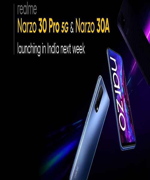 Realme Narzo 30 Pro 5G, Narzo 30A Confirmed to Launch in India on February 24
