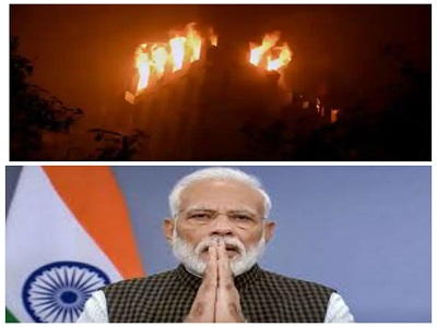 PM announces ₹2 lakh each for families of those who lost lives in Kolkata fire