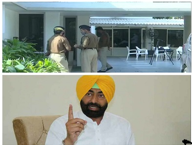 ED raids MLA Sukhpal Khaira's house in Chandigarh in money laundering case