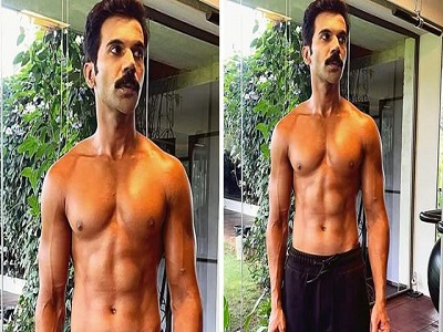 Rajkummar shares pic of transformation, says 'Wasn't easy being a pure vegetarian'