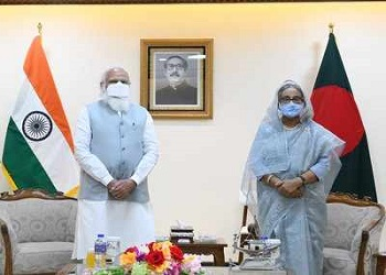 India and Bangladesh sign 5 MoUs to further enhance bilateral ties
