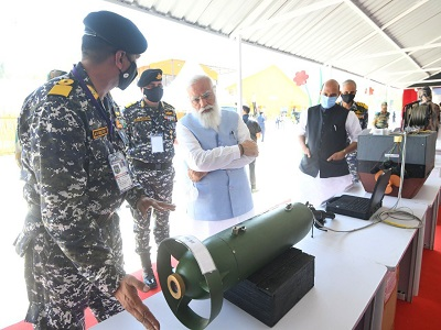 Need to develop Indian military into a future force: PM Modi