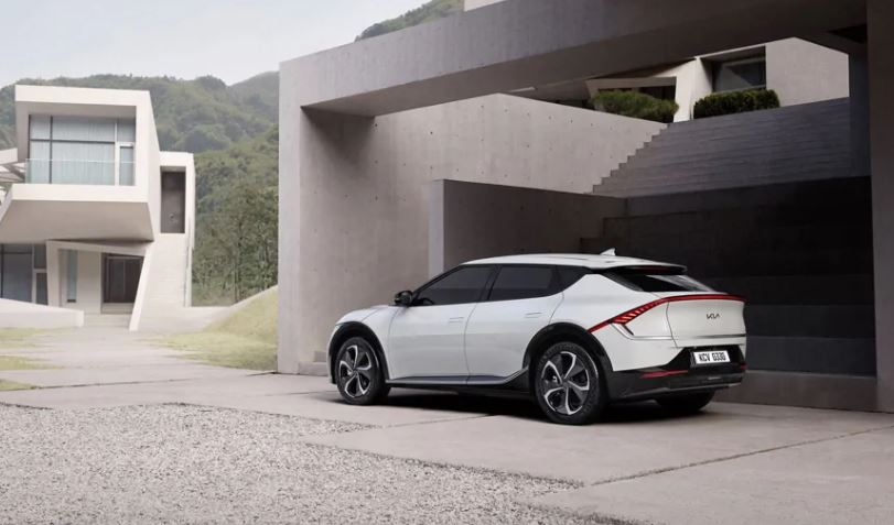 Kia unveils the look of its first 'dedicated' battery electric car EV6