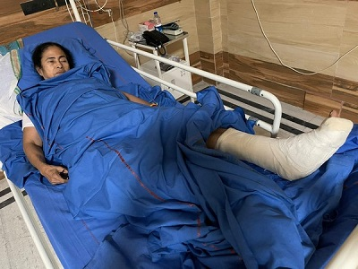 Mamata sustained severe bony injuries in ankle, foot, neck: Doctor at SSKM Hospital