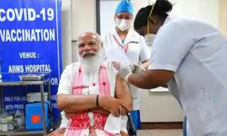 PM Modi gets Covid shot, nurse tells about the enthralling moment