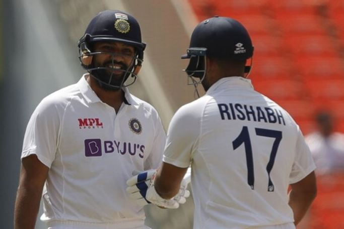 """Rohit Sharma all in praise for Rishabh Pant says """"It's one of his finest knocks"""""""