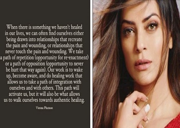 I speak from experience: Sushmita on unhealthy relationship patterns