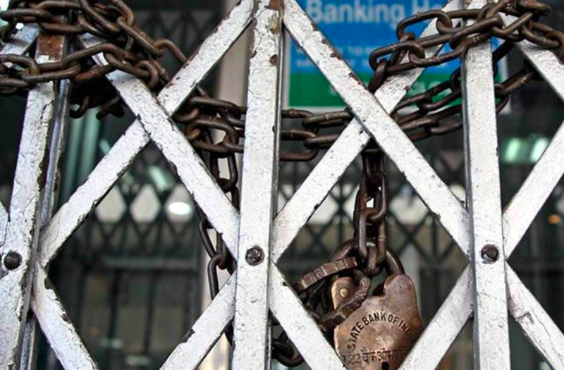 Banks services shun for 2-days as 10 lakh employees go on strike