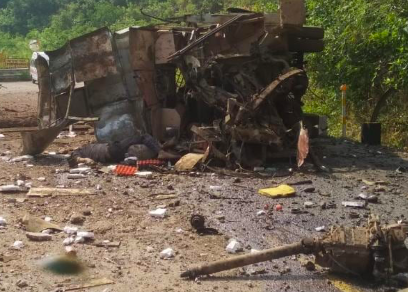 Chhattisgarh: Five police personnel killed in IED bus blast in Naxal-hit Narayanpur