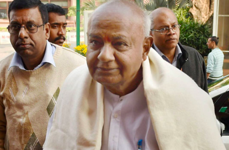 Former PM HD Deve Gowda, wife test Covid positive, under self-isolation with family
