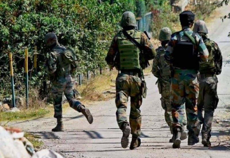 Two encounters break out in south Kashmir, terrorists trapped amid heavy firing
