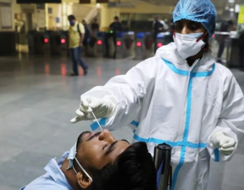 India records 40,953 fresh Covid cases, highest daily-surge in nearly 4 months