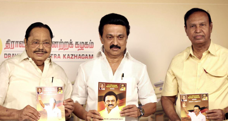 TN Polls: DMK lists cheap fuel, free tablets for students in its 500 poll promises