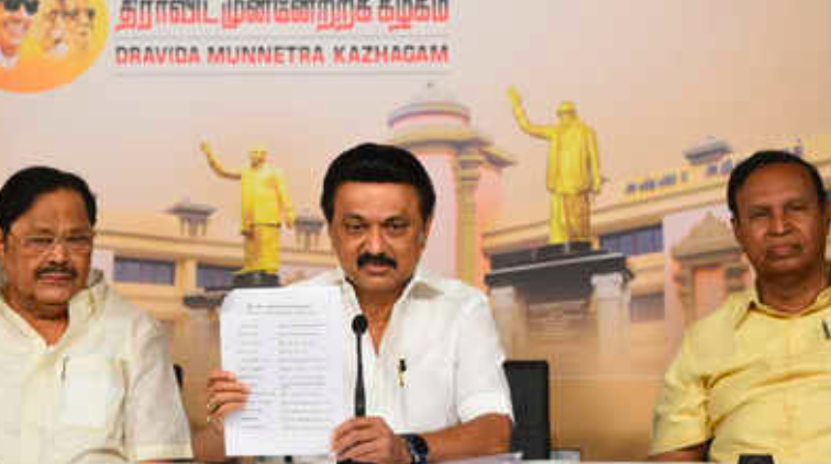 Tamil Nadu polls: DMK rolls out list of 173 leases candidates