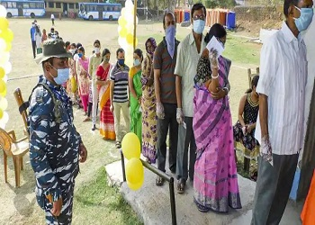 WB election Phase-5 Polling ENDs ; 78.36% voters turnout recorded, violence reported in some areas