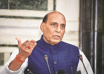DM Rajnath Singh grants emergency financial powers to armed forces to fight Covid situation
