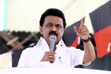 """""""I Am MK Stalin"""": DMK Leader's Message After Tax Raids On Son-In-Law"""