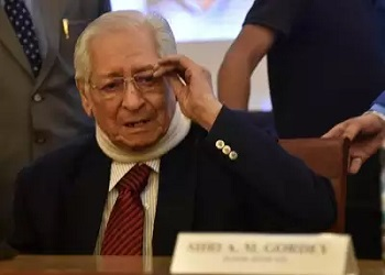 Former Attorney General of India Soli Sorabjee dies due to COVID-19