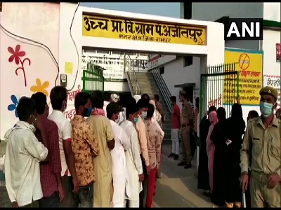 UP Panchayat Election 2021 : 71 per cent turnout recorded in first phase