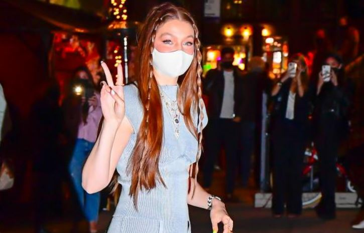 Gigi Hadid SLAYS in an Isa Boulder outfit for her 26 B'Day with Zayn Malik