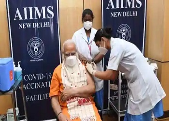 'If eligible for vaccine, get your shot soon': PM Modi takes second dose of Covaxin at Delhi's AIIMS