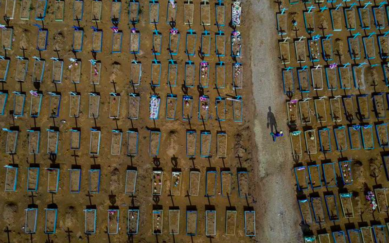Brazil mourns as its Covid fatalities hits 400,000 mark, situation may go worst