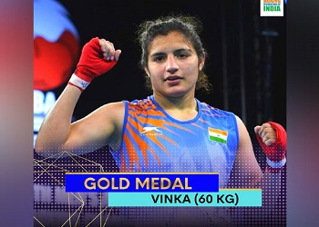 Indian women win historic 7 golds at Youth World Boxing Championships