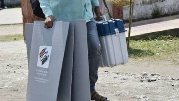Assam: 'EVMs' found in BJP candidate's car, repolling at Ratabari station, officers suspended