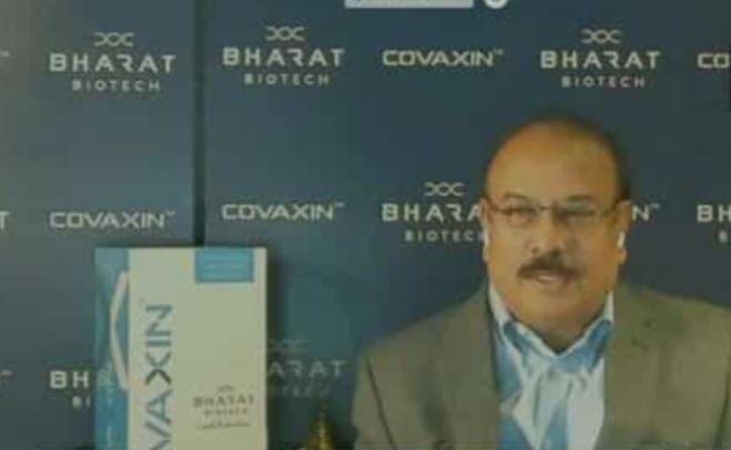 Bharat Biotech seeks DCGI's nod to extend shelf life of 'Covaxin' to 24 months